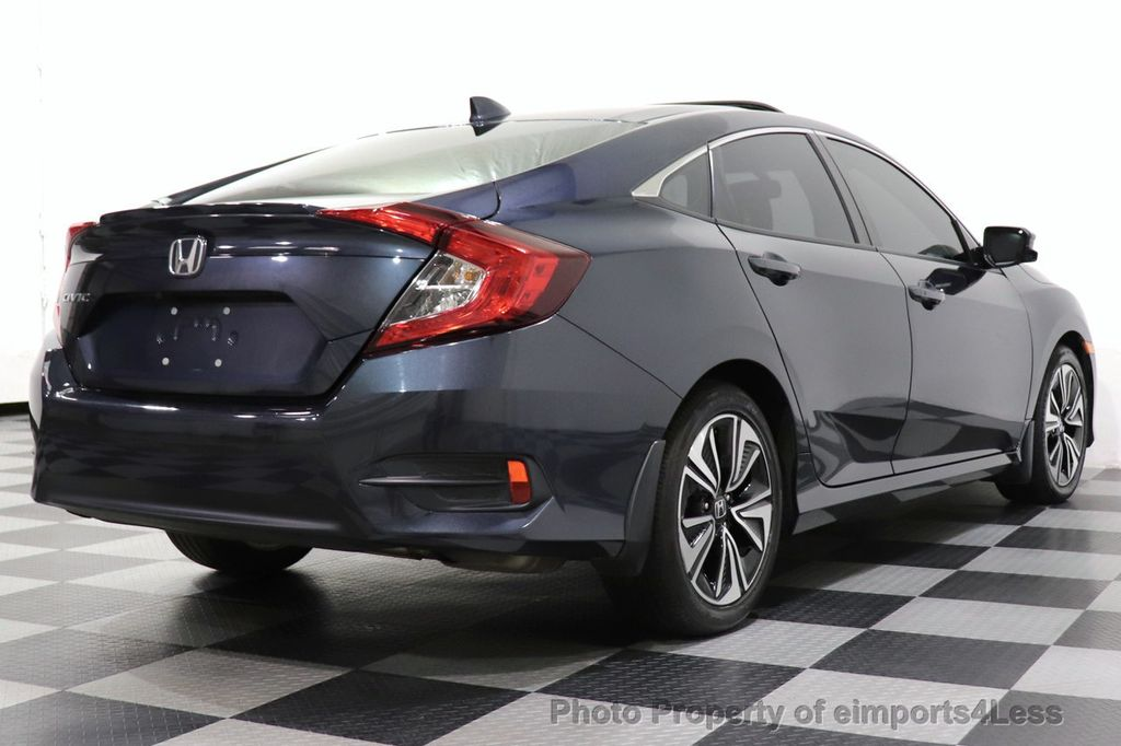 2017 Honda Civic Sedan CERTIFIED CIVIC EXL CAMERA KEYLESSGO LED HEADLIGHTS - 18467688 - 46