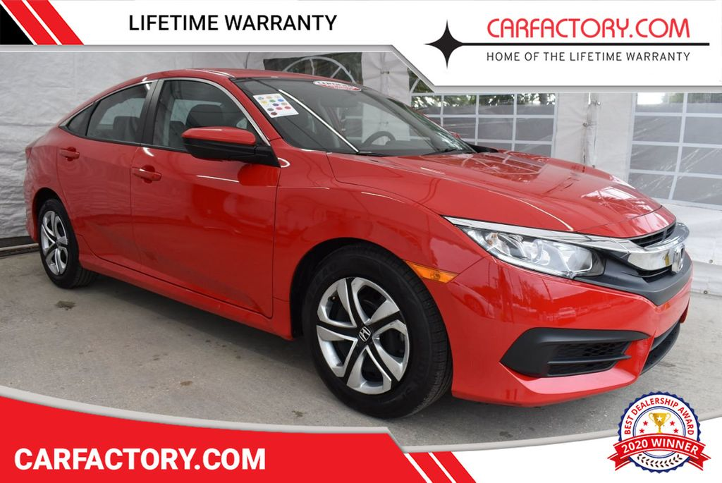 2017 Honda Civic Sedan LX CVT - 18546481 - 0