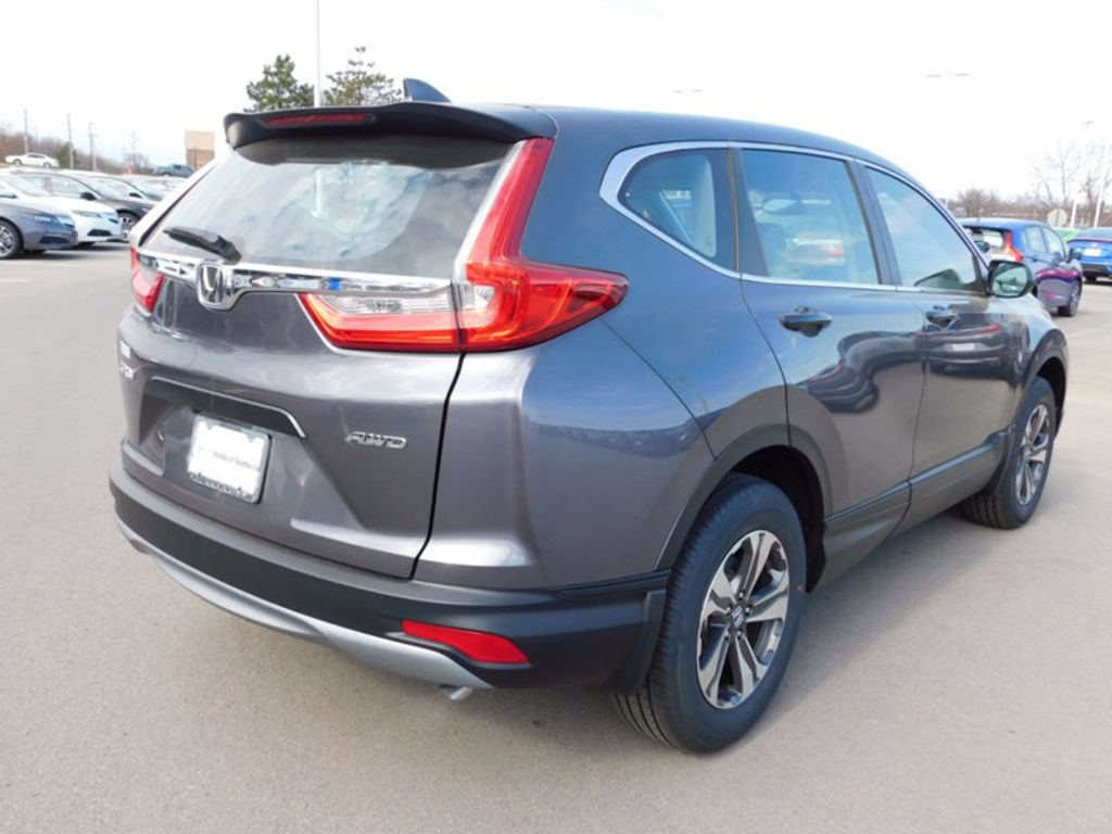 2017 Honda Cr V Lx Awd 16073689 2