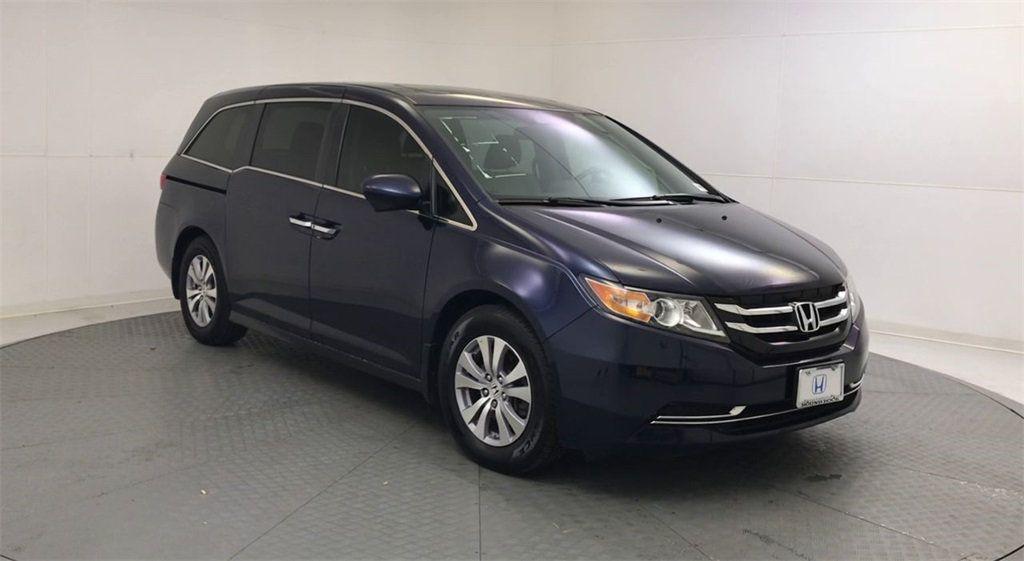 2017 Used Honda Odyssey EX-L at Round Rock Honda Serving ...