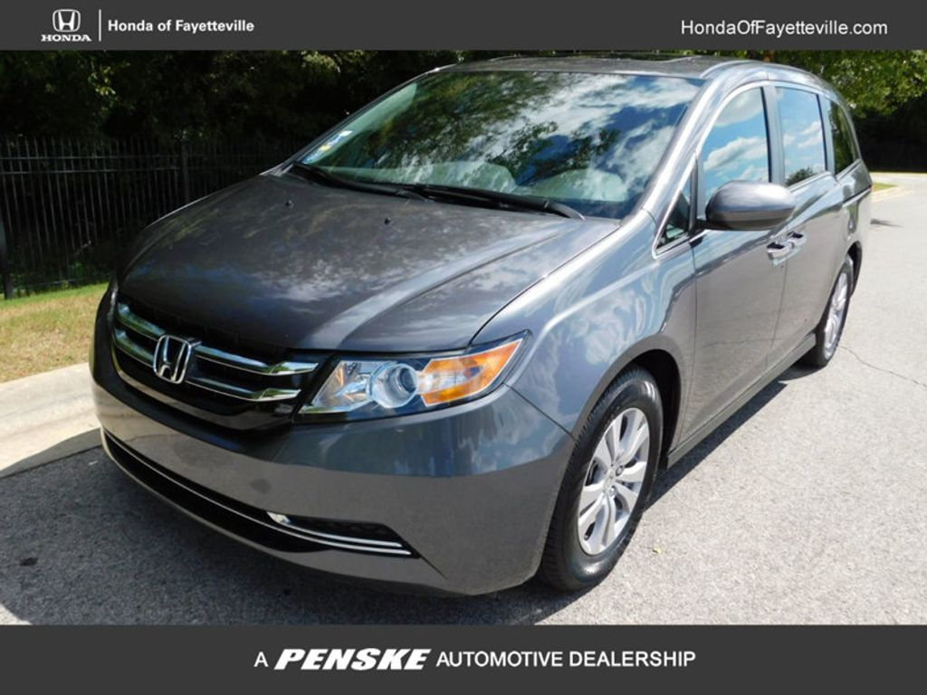 2017 Used Honda Odyssey Ex L Automatic At Fayetteville Autopark Iid