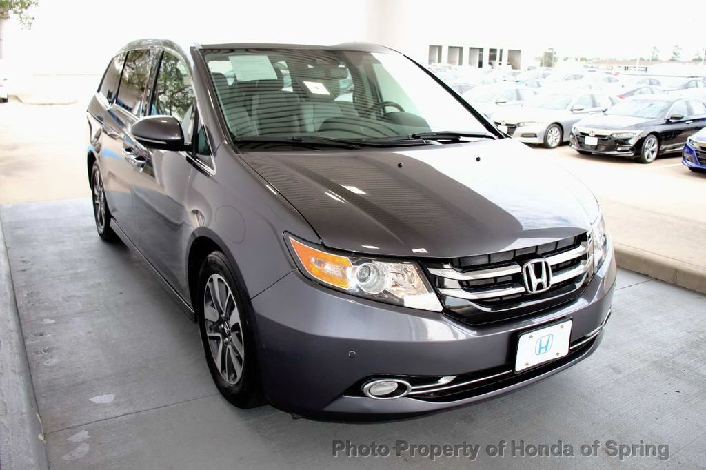 2017 Honda Odyssey Touring >> 2017 Used Honda Odyssey Touring Elite Automatic At Honda Of Spring Serving Houston Woodlands Tomball Tx Iid 19474278