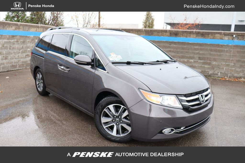 2017 Honda Odyssey Touring >> 2017 Used Honda Odyssey Touring Elite Automatic At Penske Honda Serving Indianapolis Carmel Fishers In Iid 19522473