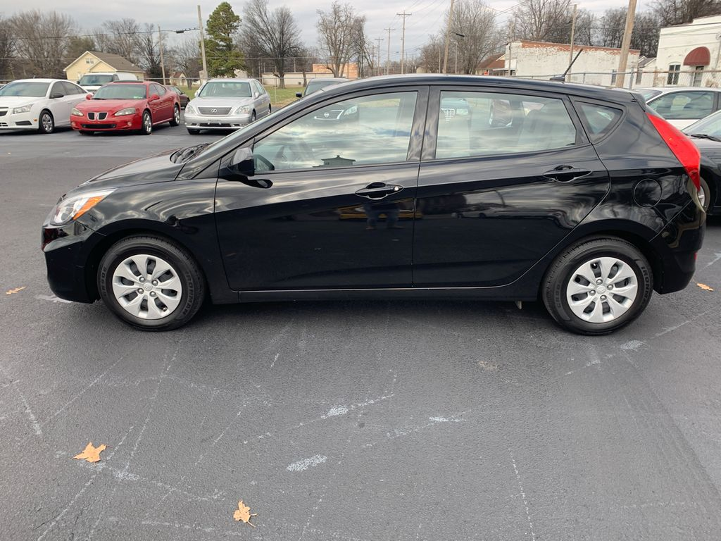 Used Hyundai Accent >> 2017 Used Hyundai Accent Se Hatchback Automatic At Allen Auto Sales
