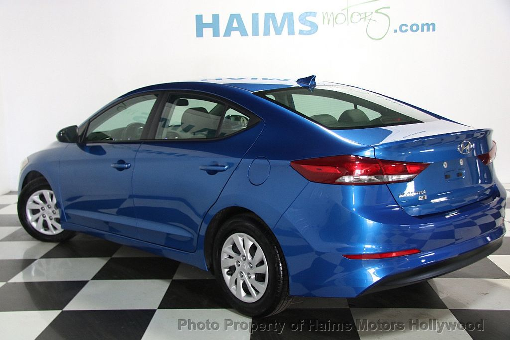 2017 used hyundai elantra se 2 0l automatic at haims motors serving fort lauderdale hollywood. Black Bedroom Furniture Sets. Home Design Ideas