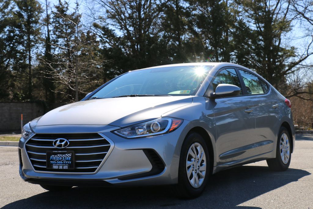 2017 used hyundai elantra se 2 0l automatic at finish line auto serving springfield va iid. Black Bedroom Furniture Sets. Home Design Ideas