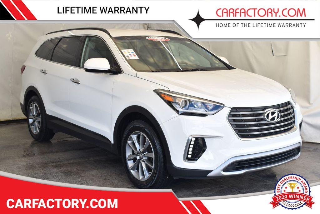 2017 Hyundai Santa Fe Limited 3.3L Automatic - 18093580 - 0