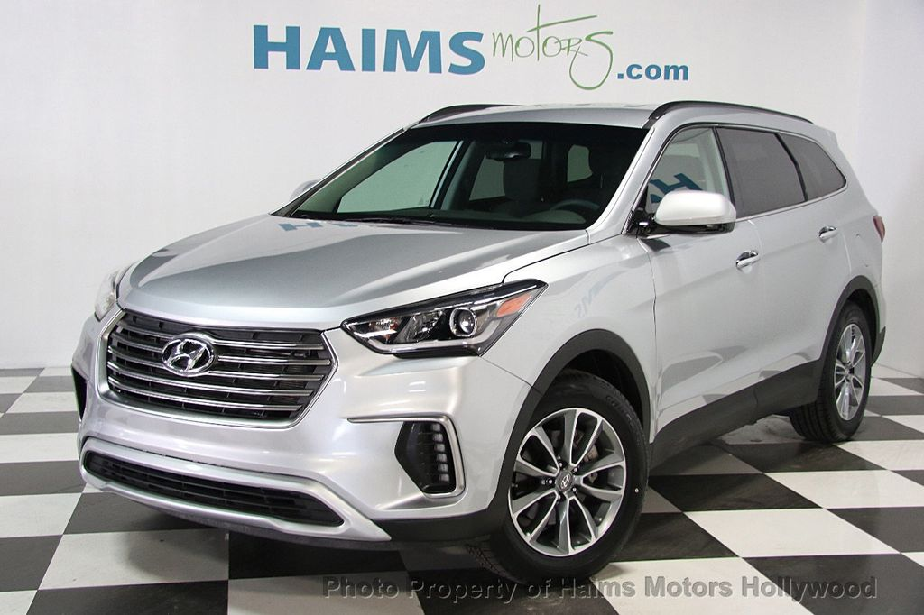 2017 used hyundai santa fe se 3 3l automatic at haims motors serving. Black Bedroom Furniture Sets. Home Design Ideas