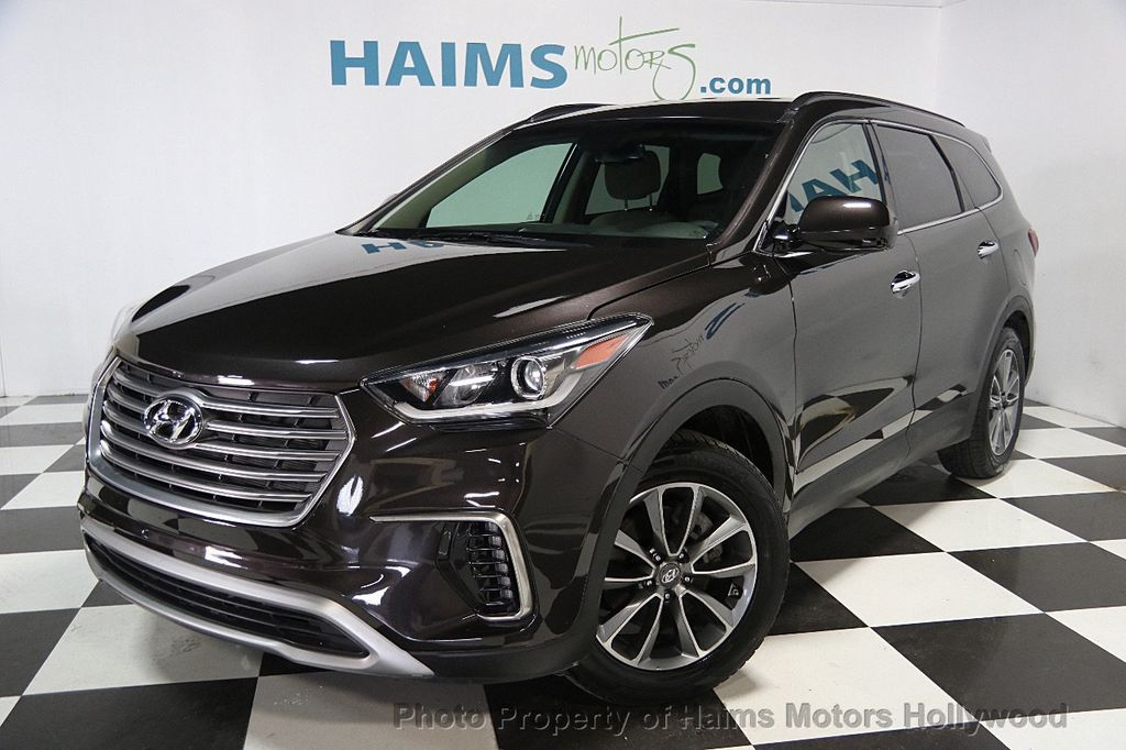 2017 used hyundai santa fe se 3 3l automatic at haims motors serving fort lauderdale hollywood. Black Bedroom Furniture Sets. Home Design Ideas