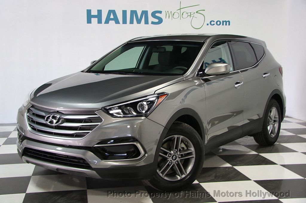 2017 used hyundai santa fe sport 2 4l automatic at haims motors serving fort lauderdale. Black Bedroom Furniture Sets. Home Design Ideas