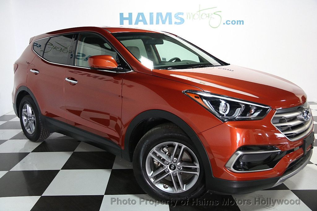 2017 used hyundai santa fe sport 2 4l automatic at haims motors. Black Bedroom Furniture Sets. Home Design Ideas