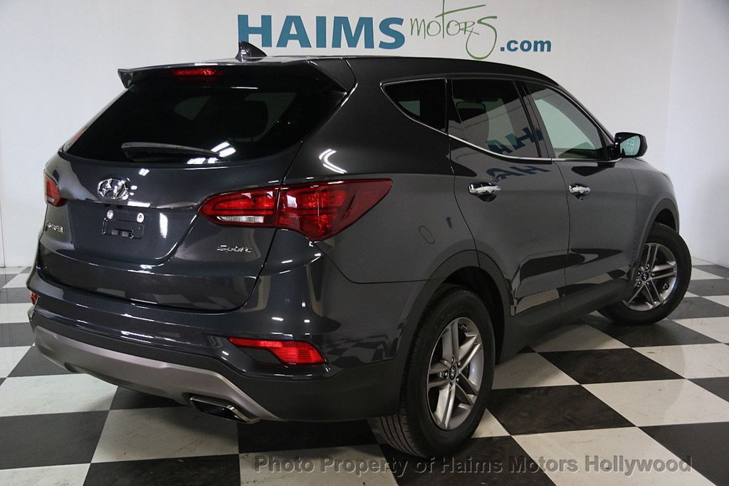 2017 Hyundai Santa Fe Sport 2 4l Automatic 17302481 6