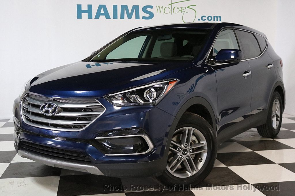 Used Hyundai Santa Fe >> 2017 Used Hyundai Santa Fe Sport 2 4l Automatic At Haims Motors