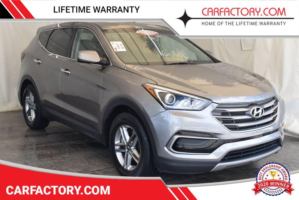 2017 Hyundai Santa Fe Sport 2.4L Automatic - 18093579 - 0