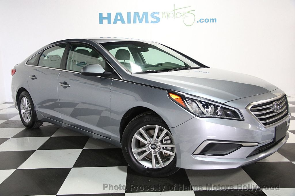 2017 used hyundai sonata se 2 4l at haims motors ft