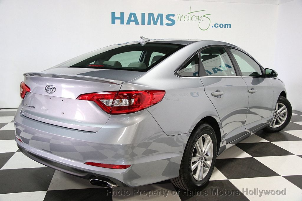 2017 used hyundai sonata se 2 4l at haims motors hollywood serving fort lauderdale hollywood. Black Bedroom Furniture Sets. Home Design Ideas
