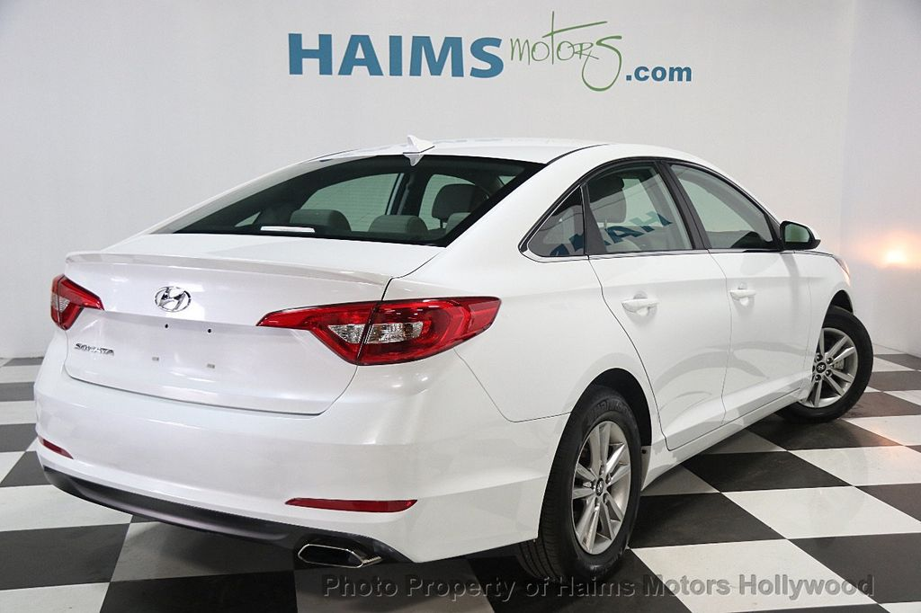 2017 used hyundai sonata se 2 4l at haims motors hollywood. Black Bedroom Furniture Sets. Home Design Ideas