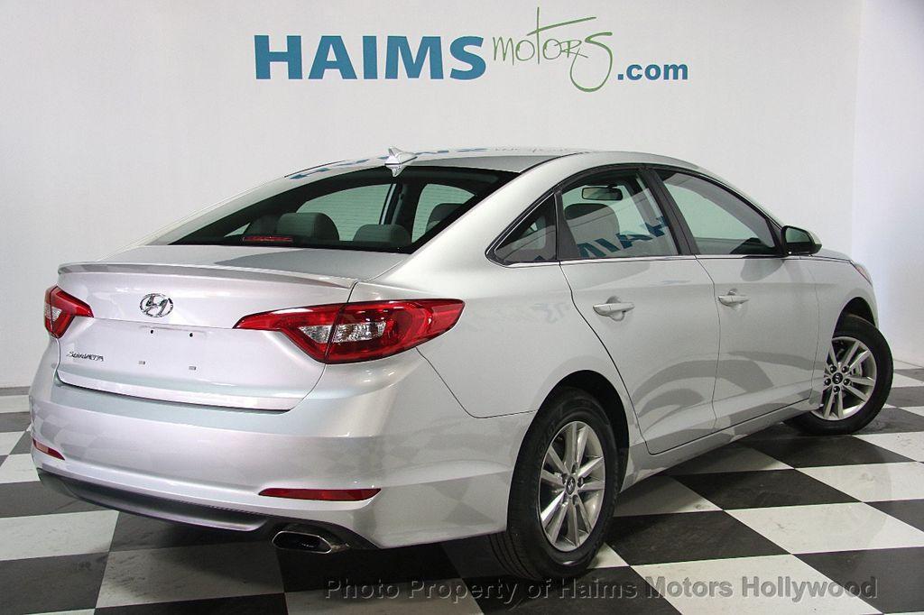 2017 Used Hyundai Sonata SE 2 4L at Haims Motors Hollywood