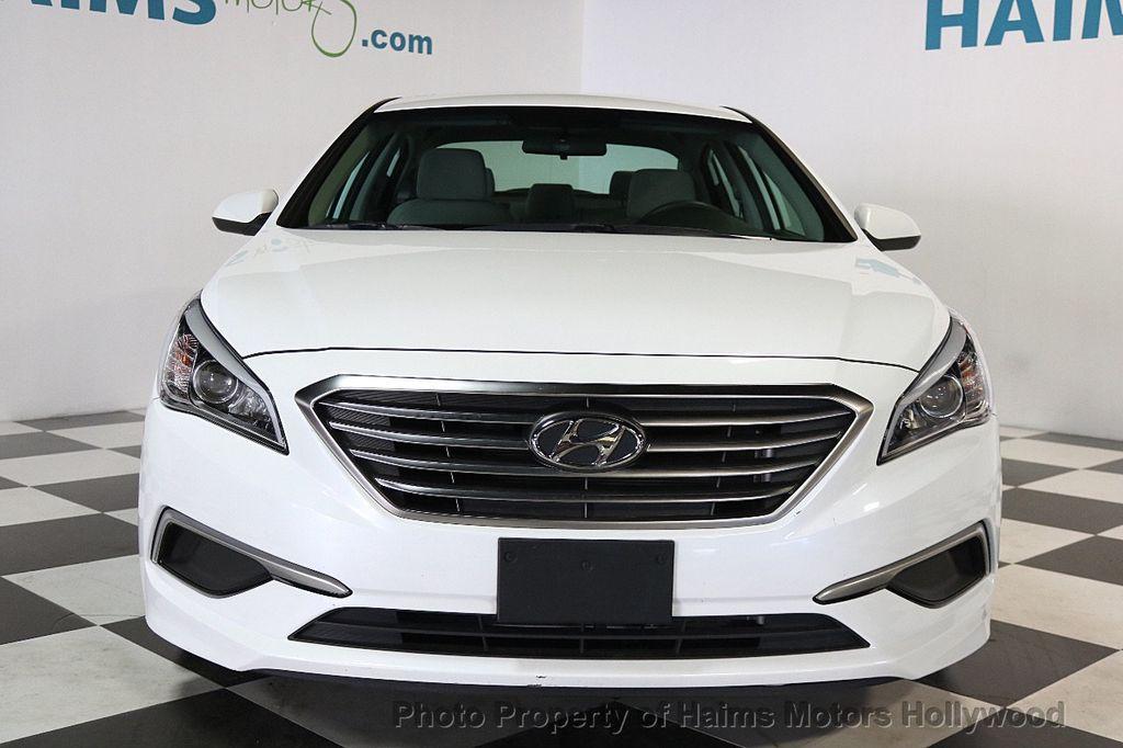 2017 Hyundai Sonata SE 2.4L - 17595324 - 2