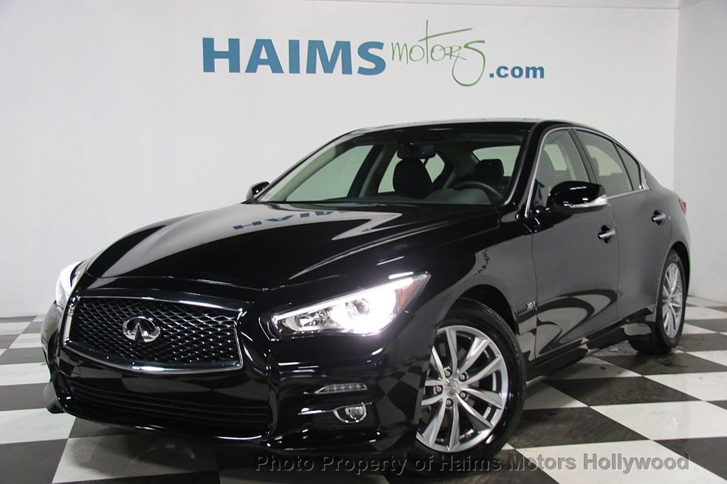 2017 used infiniti q50 signature edition rwd at haims. Black Bedroom Furniture Sets. Home Design Ideas