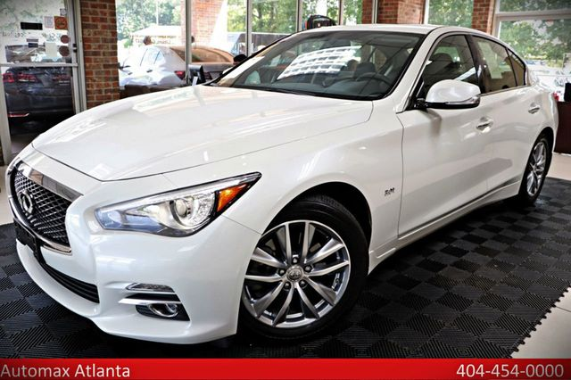 2017 used infiniti q50 navigation backup camera sunroof at automax atlanta serving lilburn. Black Bedroom Furniture Sets. Home Design Ideas