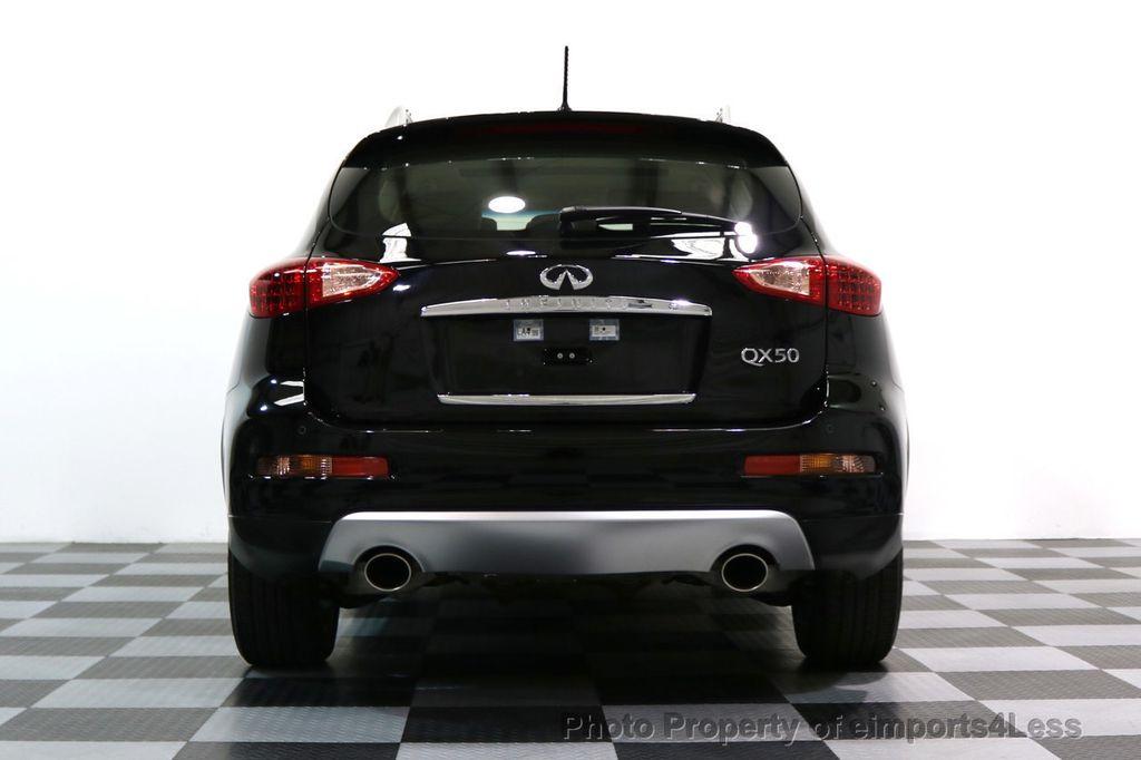 2017 INFINITI QX50 CERTIFIED QX50 3.7 AWD CAMERA BOSE NAVIGATION - 17565952 - 35