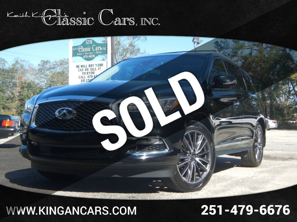 2017 Used Infiniti Qx60 W Deluxe Technology Package At Keith Kingan S Classic Cars Serving Mobile Al Iid 20471967