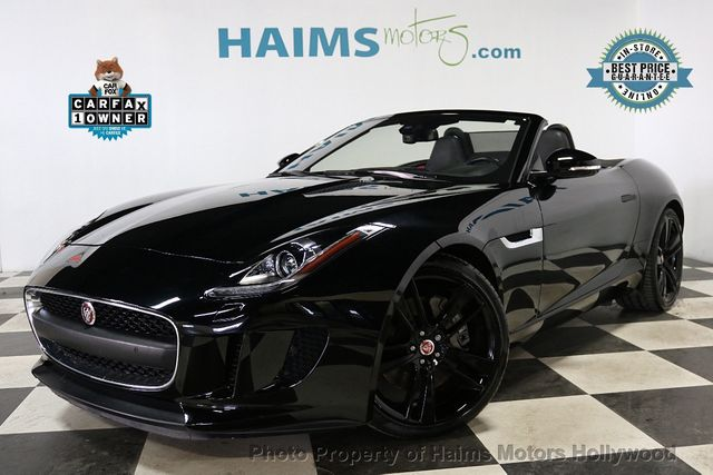 2017 Used Jaguar F Type Convertible Automatic Premium At Haims Motors Hollywood Serving Fort Lauderdale Pompano Beach Fl Iid 18629835