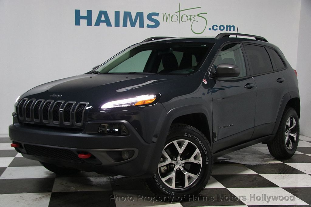 2017 Used Jeep Cherokee Trailhawk 4x4 At Haims Motors Serving Fort