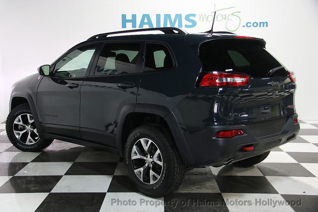 2017 used jeep cherokee trailhawk 4x4 at haims motors serving fort lauderdale hollywood miami. Black Bedroom Furniture Sets. Home Design Ideas