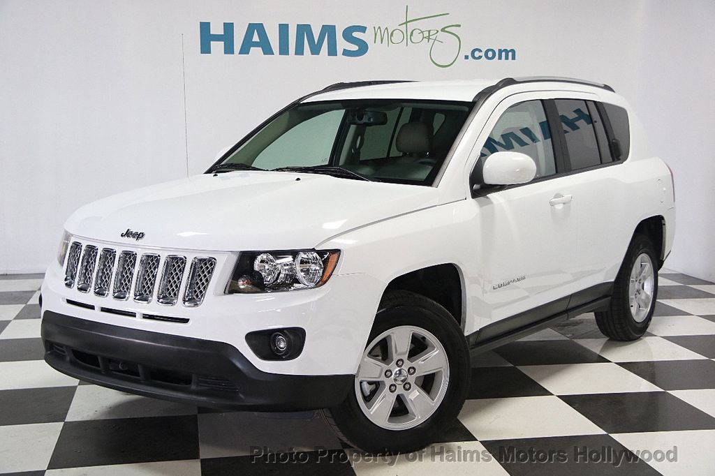 2017 used jeep compass latitude fwd at haims motors. Black Bedroom Furniture Sets. Home Design Ideas