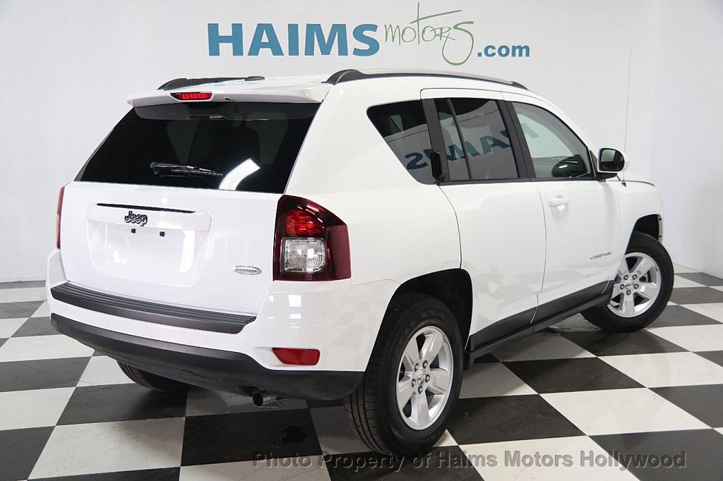 2017 used jeep compass latitude fwd at haims motors ft. Black Bedroom Furniture Sets. Home Design Ideas