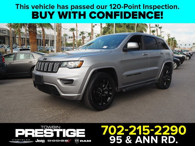 2017 Used Jeep Grand Cherokee Alude 4x4 At Prestige Chrysler