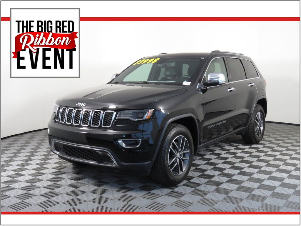 2017 Used Jeep Grand Cherokee Limited 4x2 At Bugatti Scottsdale Serving Phoenix Az Iid 20414021