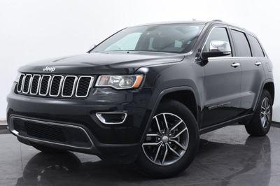2017 Jeep Grand Cherokee Limited 4x4 SUV