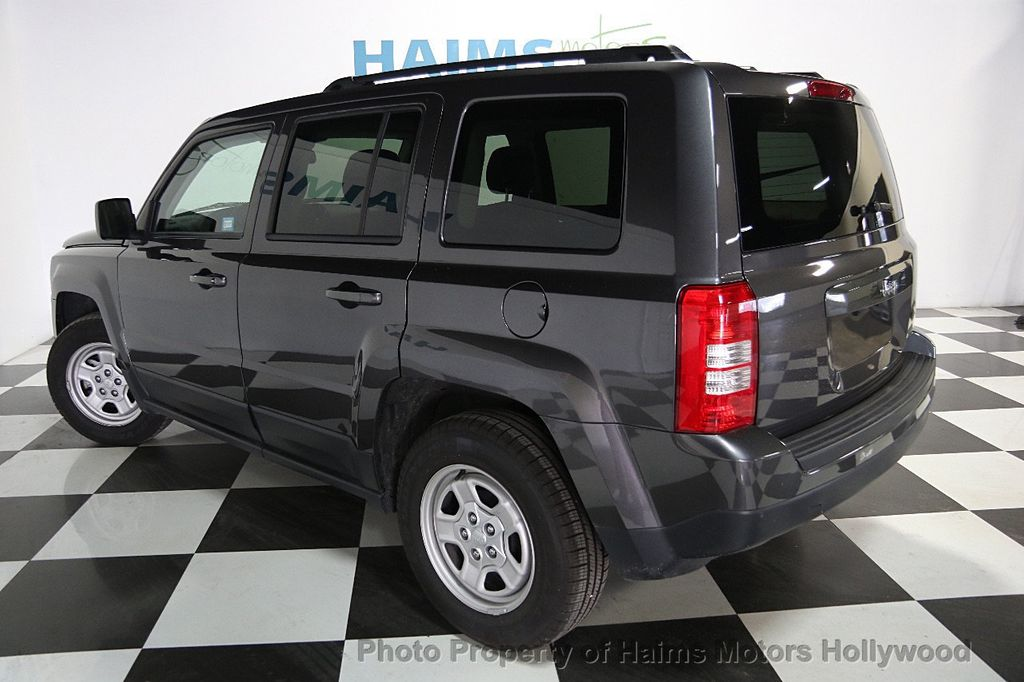 2017 used jeep patriot sport fwd at haims motors ft. Black Bedroom Furniture Sets. Home Design Ideas