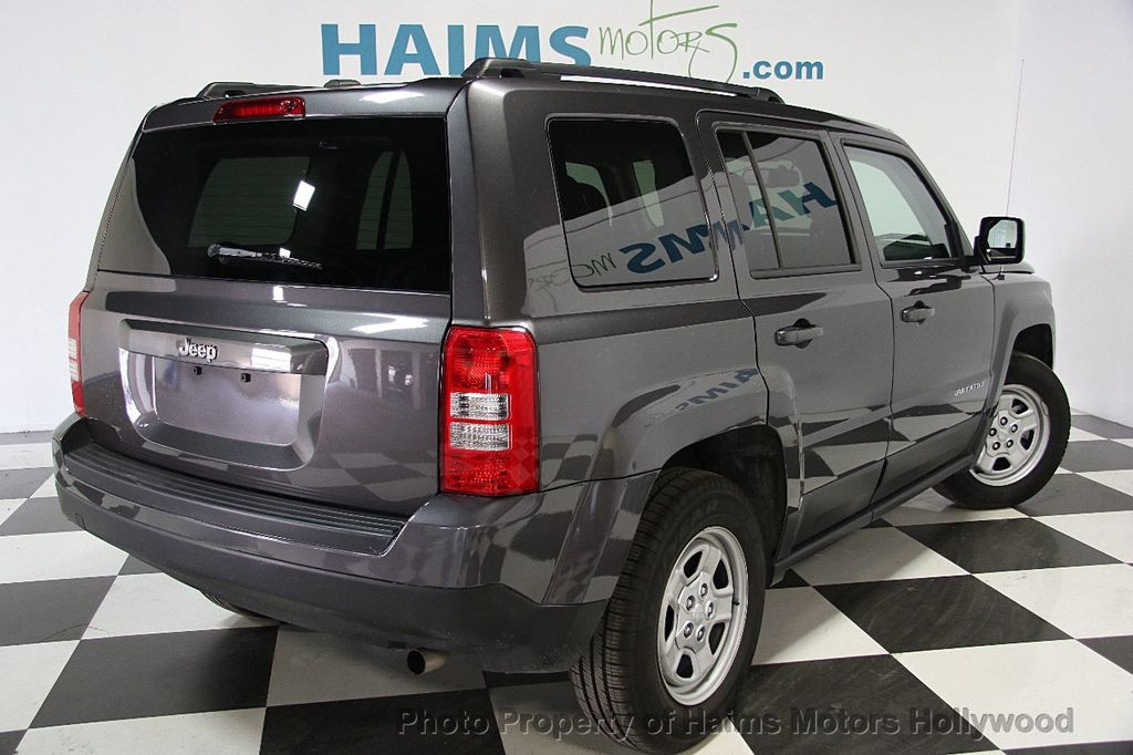 2017 Used Jeep Patriot Sport Fwd At Haims Motors Serving Fort