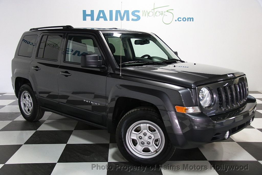 2017 Jeep Patriot Sport Fwd 18353697 3