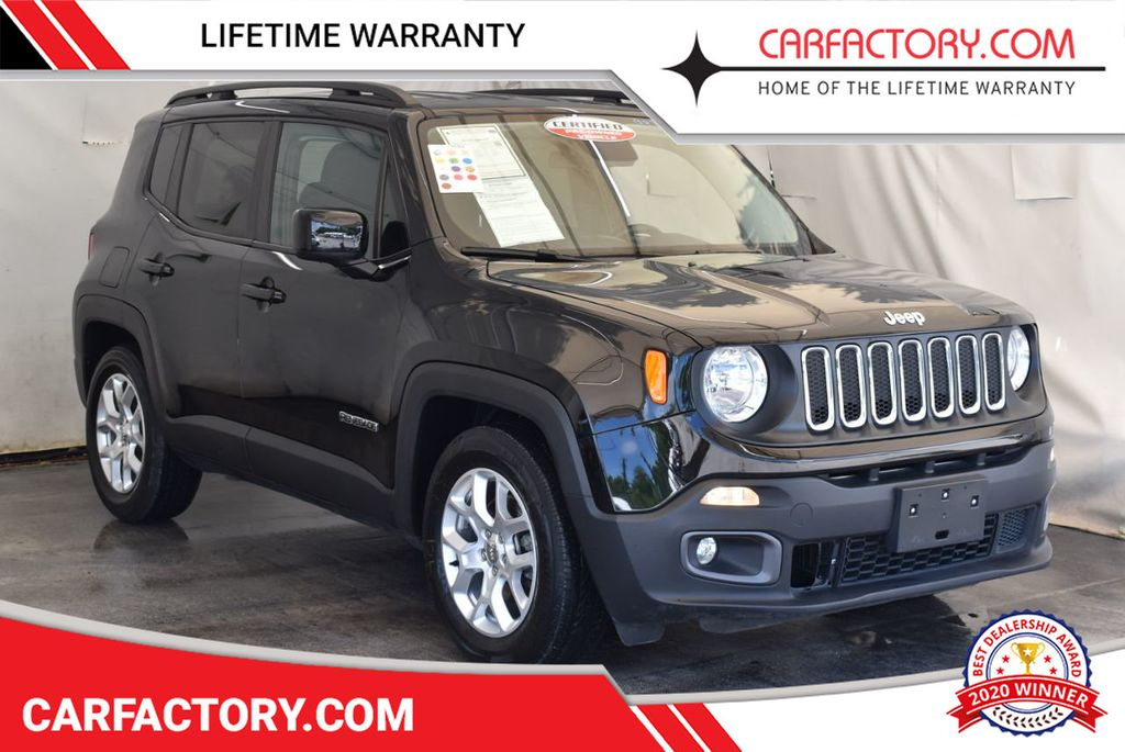 2017 Jeep Renegade Latitude FWD - 18250843 - 0