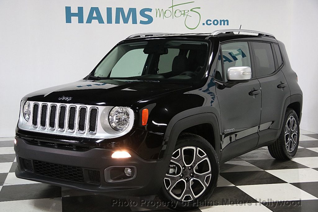 2017 used jeep renegade limited fwd at haims motors hollywood serving fort lauderdale hollywood. Black Bedroom Furniture Sets. Home Design Ideas