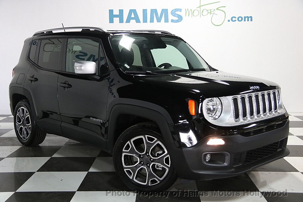 2017 used jeep renegade limited fwd at haims motors serving fort