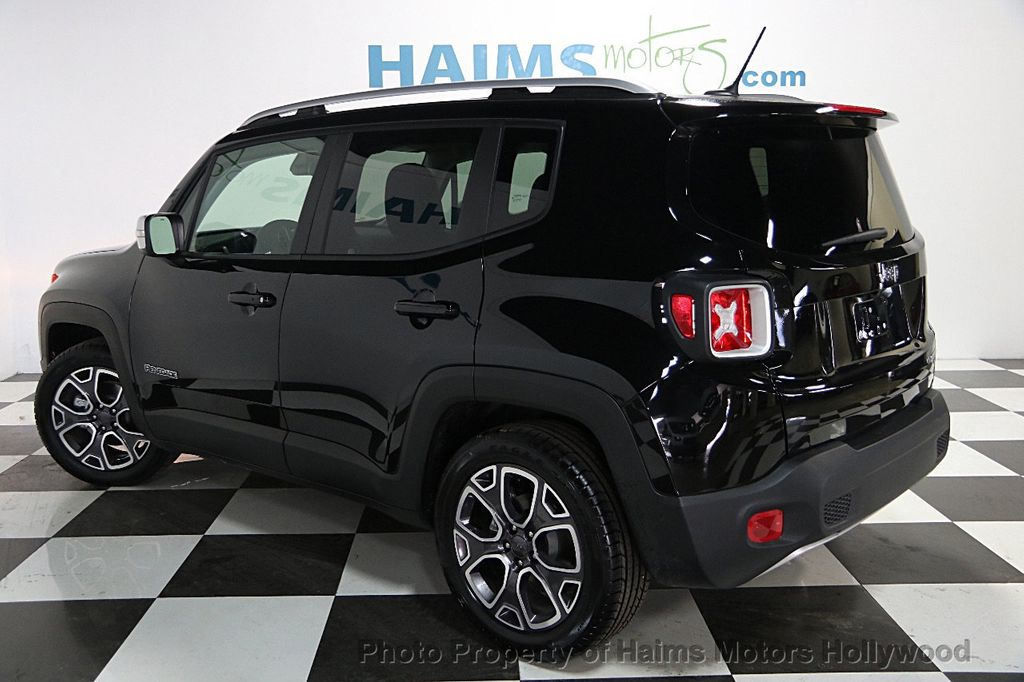 2017 used jeep renegade limited fwd at haims motors serving fort lauderdale hollywood miami. Black Bedroom Furniture Sets. Home Design Ideas