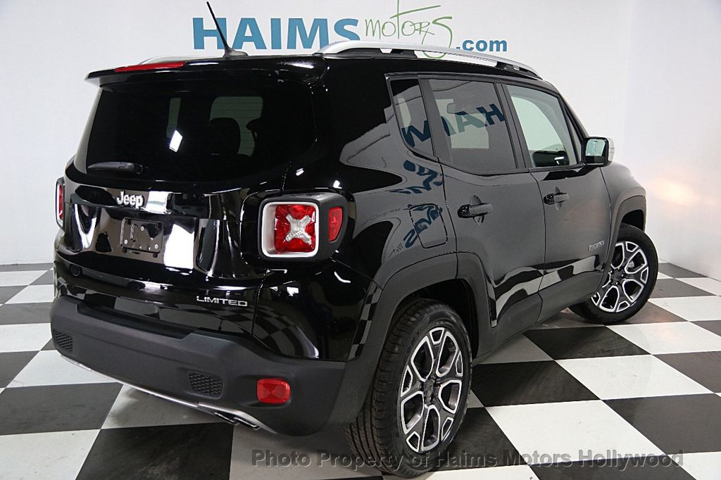 2017 used jeep renegade limited fwd at haims motors ft lauderdale serving lauderdale lakes fl. Black Bedroom Furniture Sets. Home Design Ideas