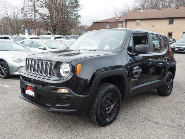 Red Jeep Renegade >> 2017 Jeep Renegade Sport 4x4 Suv For Sale Red Bank Nj 16 488 Motorcar Com