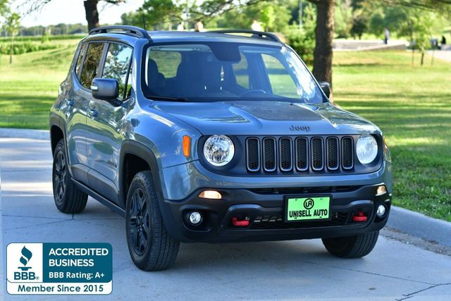 2017 Used Jeep Renegade Trailhawk 4x4 At Unisell Auto Serving
