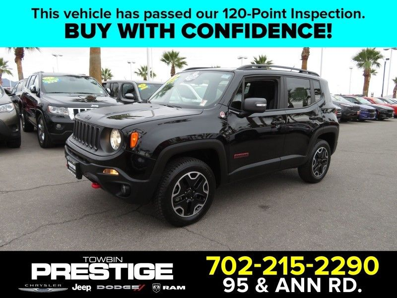 2017 Jeep Renegade Trailhawk 4x4 - 17210108 - 0