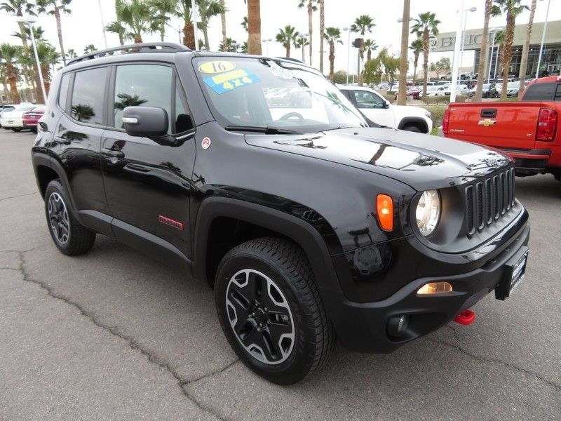 2017 Jeep Renegade Trailhawk 4x4 - 17210108 - 2
