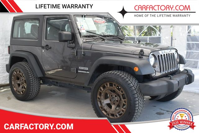 dc613ae5 2017 Used Jeep Wrangler at Car Factory Outlet Serving Miami, FL, IID ...