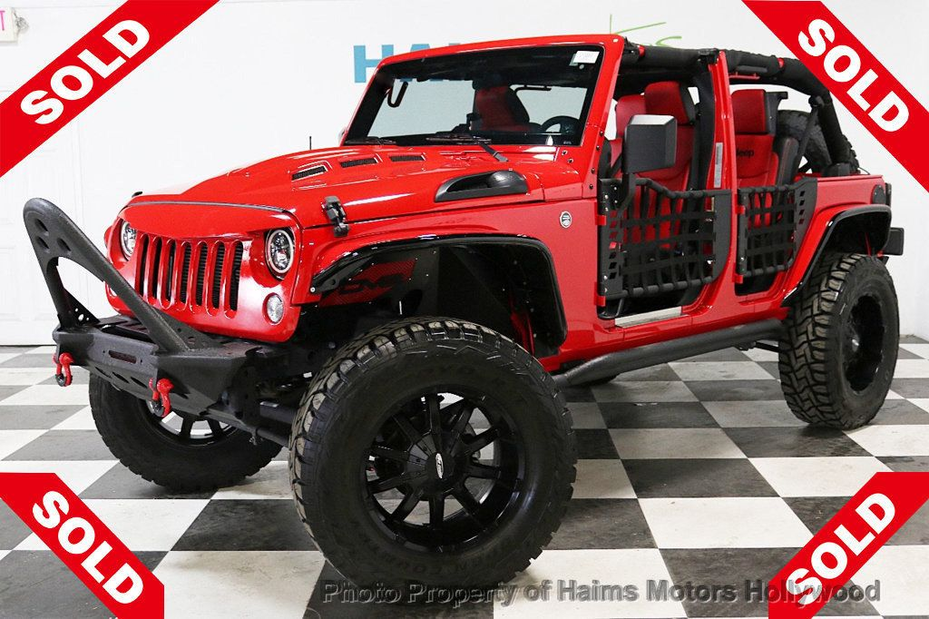 2017 Jeep Wrangler Unlimited  - 18496945 - 0