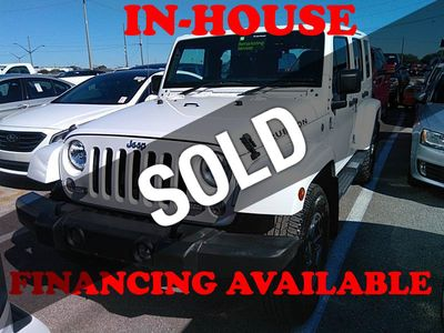 2017 Jeep Wrangler Unlimited 2017 Jeep Wrangler Unlimited Sport RHD 4x4, 1-Owner, 24k Miles!! SUV